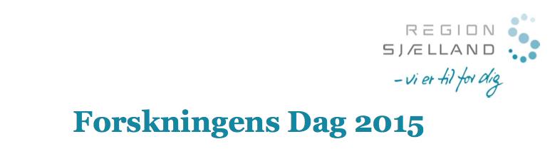 Forskningens Dag 2015