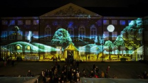 Tolkien-fortolkning på Nationalmuseet ved Kulturnatten 2015. Foto: Sattrup & Høst
