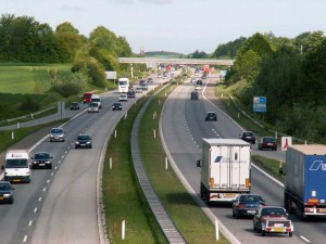 Motorvej E20. Foto: Wikipedia