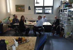 Robert Winter meet Heads of Studies and other stakeholders
