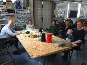 Robert Winter meet PhD students Assistant Professors