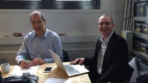 Robert Winter and Jesper Simonsen